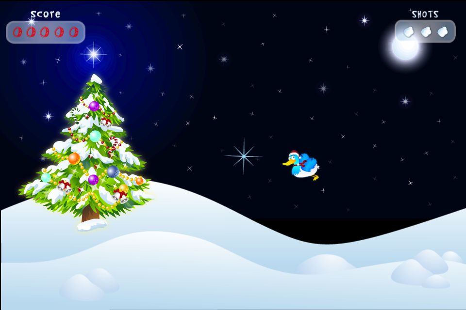 Screenshot Duck Hunt: Xmas
