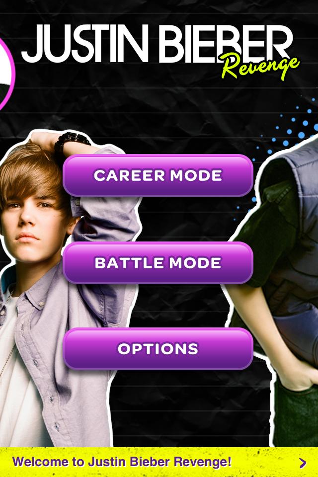 Screenshot Justin Bieber Revenge